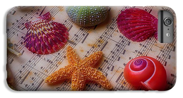 Starfish On Sheet Music IPhone 6 Plus Case by Garry Gay
