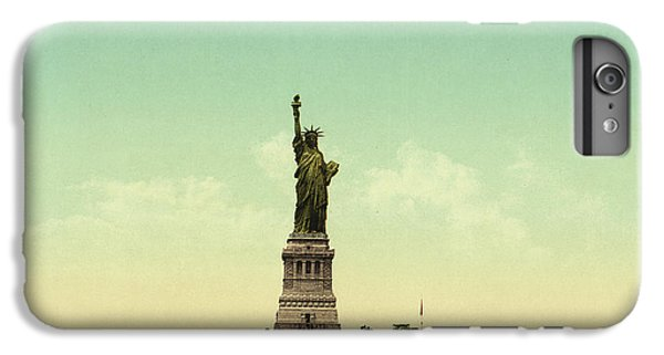 Statue Of Liberty, New York Harbor IPhone 6 Plus Case by Unknown