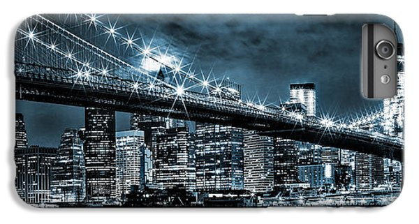 Steely Skyline IPhone 6 Plus Case by Az Jackson