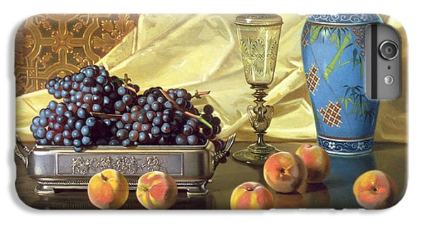 Still Life With Peaches IPhone 6 Plus Case by Edward Chalmers Leavitt