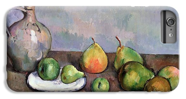 Still Life With Pitcher And Fruit IPhone 6 Plus Case by Paul Cezanne