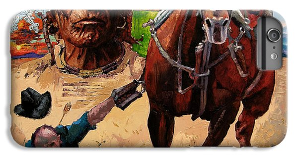 Stolen Land IPhone 6 Plus Case by John Lautermilch
