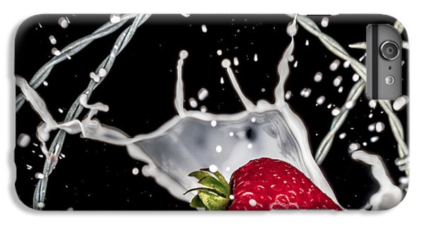 Strawberry Extreme Sports IPhone 6 Plus Case by TC Morgan