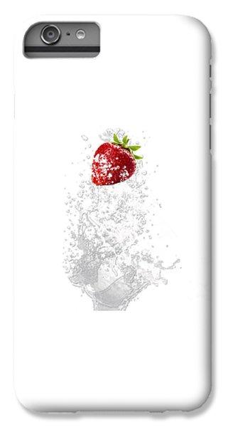 Strawberry Splash IPhone 6 Plus Case by Marvin Blaine