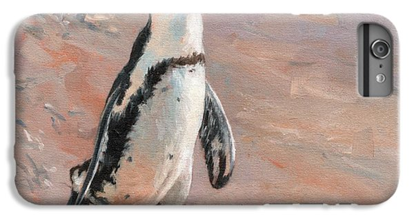 Stroll Along The Beach IPhone 6 Plus Case by David Stribbling
