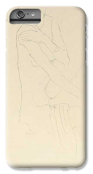 Study For Adele Bloch Bauer II IPhone 6 Plus Case by Gustav Klimt
