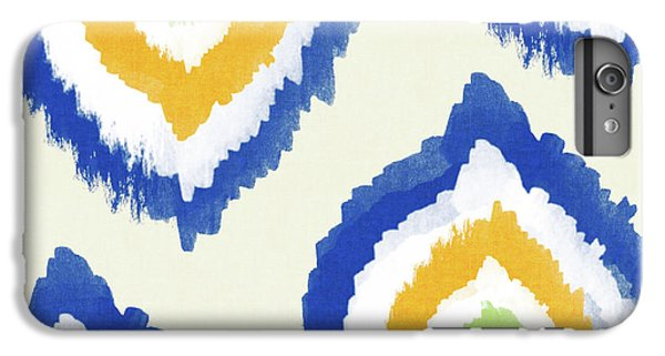 Summer Ikat- Art By Linda Woods IPhone 6 Plus Case by Linda Woods