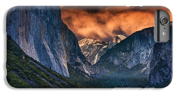 Sunset Skies Over Yosemite Valley IPhone 6 Plus Case by Rick Berk