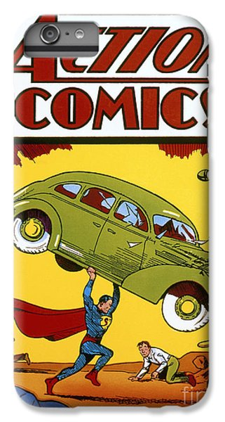 Superman Comic Book, 1938 IPhone 6 Plus Case by Granger