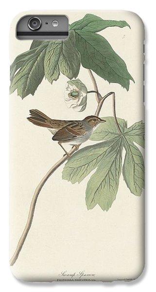 Swamp Sparrow IPhone 6 Plus Case by John James Audubon