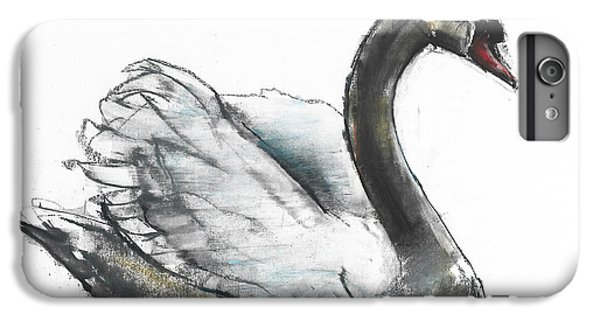 Swan IPhone 6 Plus Case by Mark Adlington