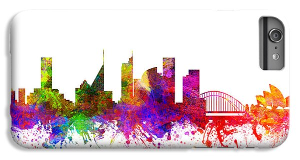 Sydney Australia Cityscape 02 IPhone 6 Plus Case by Aged Pixel