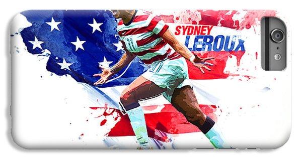 Sydney Leroux IPhone 6 Plus Case by Semih Yurdabak