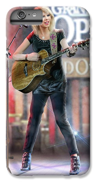 Taylor At The Opry IPhone 6 Plus Case by Don Olea
