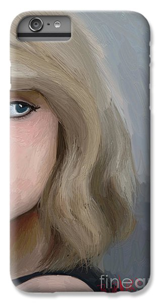 Taylor Swift  IPhone 6 Plus Case by Barbara Stanley