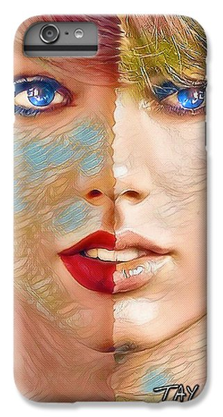 Taylor Swift - Blended Perfection IPhone 6 Plus Case by Robert Radmore