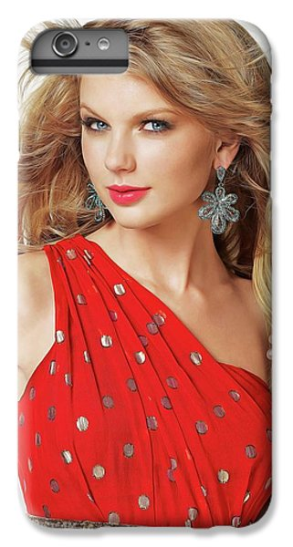 Taylor Swift IPhone 6 Plus Case by Twinkle Mehta