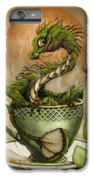 Tea Dragon IPhone 6 Plus Case by Stanley Morrison