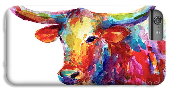Texas Longhorn Art IPhone 6 Plus Case by Svetlana Novikova