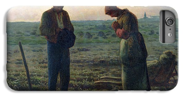 The Angelus IPhone 6 Plus Case by Jean-Francois Millet