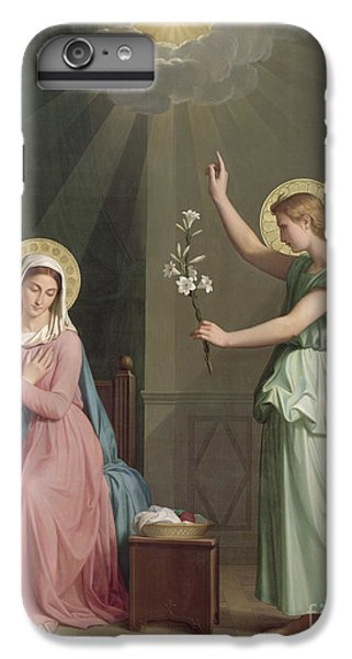 The Annunciation IPhone 6 Plus Case by Auguste Pichon