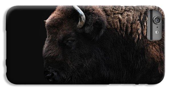 The Bison IPhone 6 Plus Case by Joachim G Pinkawa