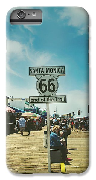 The End Of Sixty-six IPhone 6 Plus Case by Laurie Search