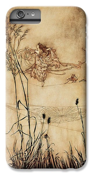 The Fairy's Tightrope From Peter Pan In Kensington Gardens IPhone 6 Plus Case by Arthur Rackham