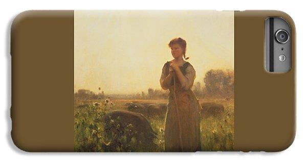The Farm Girl IPhone 6 Plus Case by Arthur Hacker