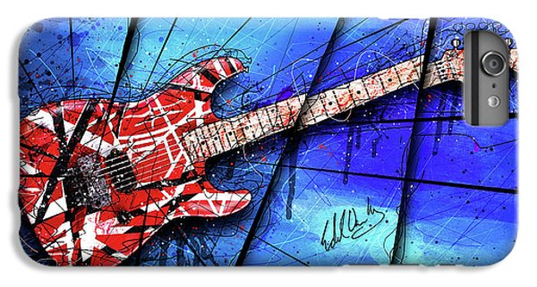 The Frankenstrat On Blue I IPhone 6 Plus Case by Gary Bodnar