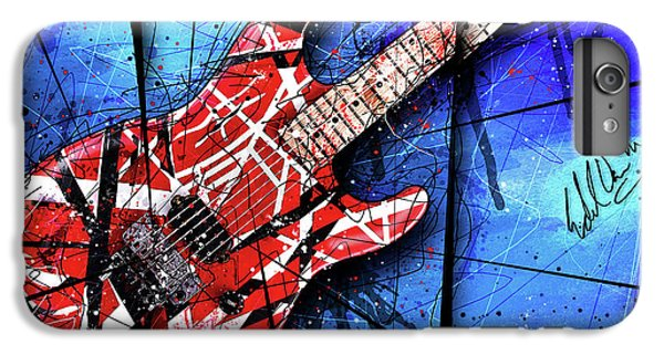 The Frankenstrat Vii Cropped IPhone 6 Plus Case by Gary Bodnar