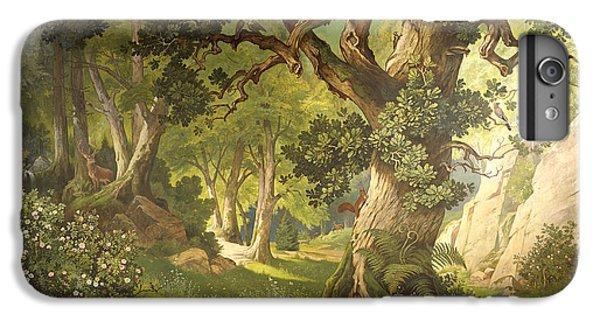 The Garden Of The Magician Klingsor, From The Parzival Cycle, Great Music Room IPhone 6 Plus Case by Christian Jank