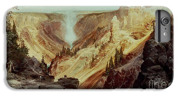 The Grand Canyon Of The Yellowstone IPhone 6 Plus Case by Thomas Moran