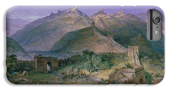 The Great Wall Of China IPhone 6 Plus Case by William Simpson