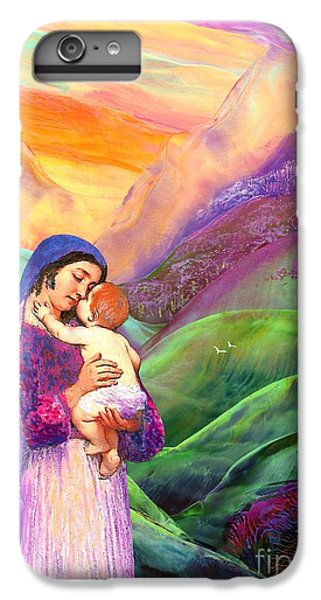 Virgin Mary And Baby Jesus, The Greatest Gift IPhone 6 Plus Case by Jane Small