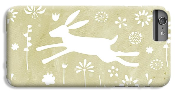 The Hare In The Meadow IPhone 6 Plus Case by Nic Squirrell