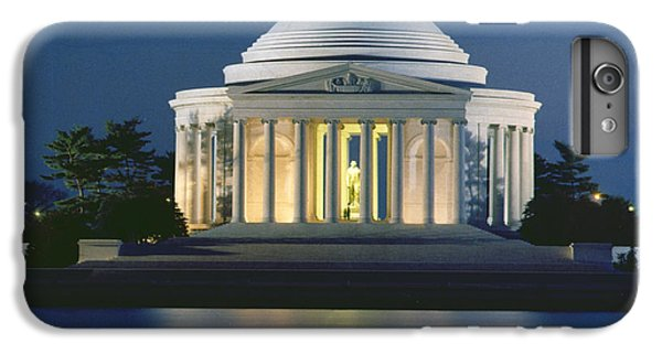 The Jefferson Memorial IPhone 6 Plus Case by Peter Newark American Pictures