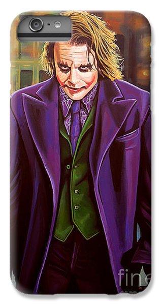 The Joker In Batman  IPhone 6 Plus Case by Paul Meijering