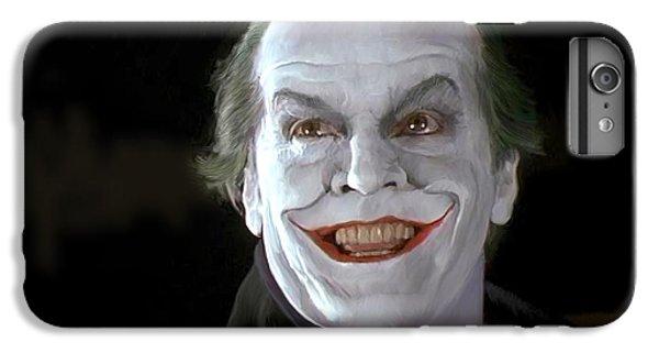The Joker IPhone 6 Plus Case by Paul Tagliamonte