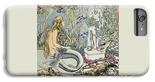 The Little Mermaid IPhone 6 Plus Case by Ivan Jakovlevich Bilibin