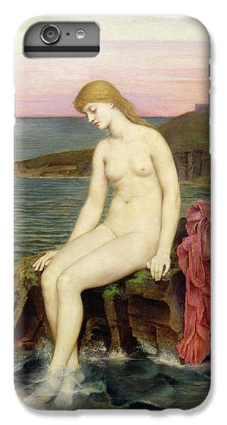 The Little Sea Maid  IPhone 6 Plus Case by Evelyn De Morgan