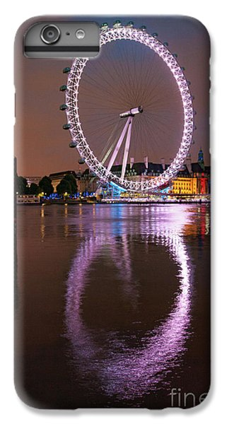 The London Eye IPhone 6 Plus Case by Nichola Denny