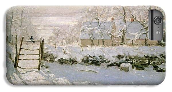 The Magpie IPhone 6 Plus Case by Claude Monet
