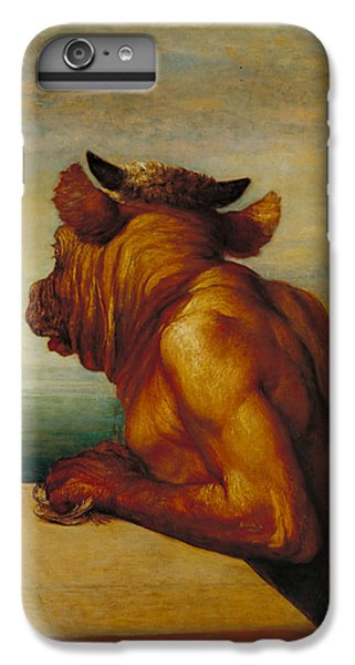 The Minotaur IPhone 6 Plus Case by George Frederic Watts