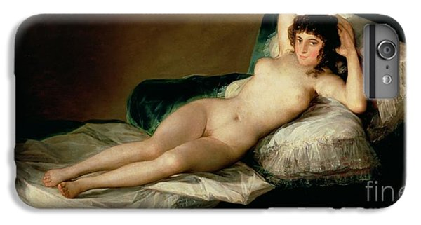 The Naked Maja IPhone 6 Plus Case by Goya