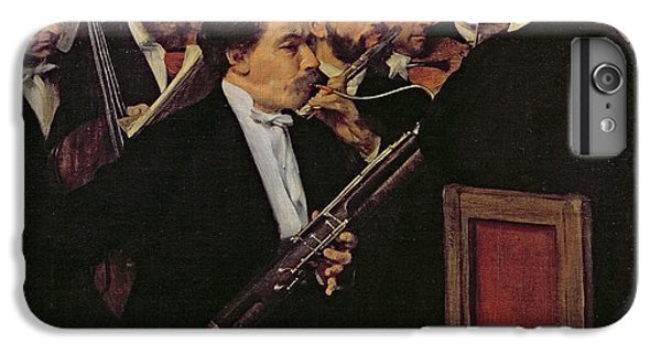The Opera Orchestra IPhone 6 Plus Case by Edgar Degas