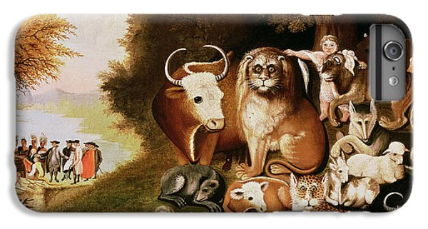 The Peaceable Kingdom IPhone 6 Plus Case by Edward Hicks