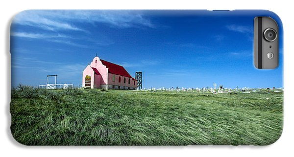 The Pink Church IPhone 6 Plus Case by Todd Klassy