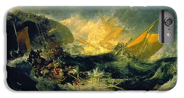 The Shipwreck Of The Minotaur IPhone 6 Plus Case by MotionAge Designs