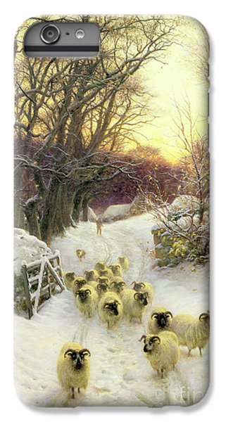 The Sun Had Closed The Winter's Day  IPhone 6 Plus Case by Joseph Farquharson